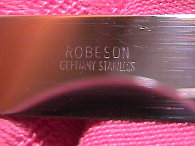 Robeson, Germany Real Antler & Stainless Steak Knife Set
