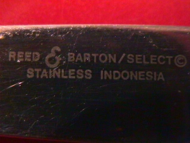 Reed & Barton Stainless