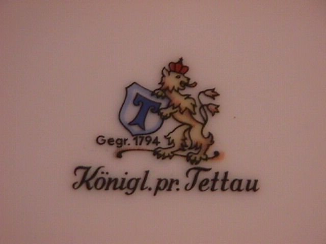 Royal Tettau Porcelain