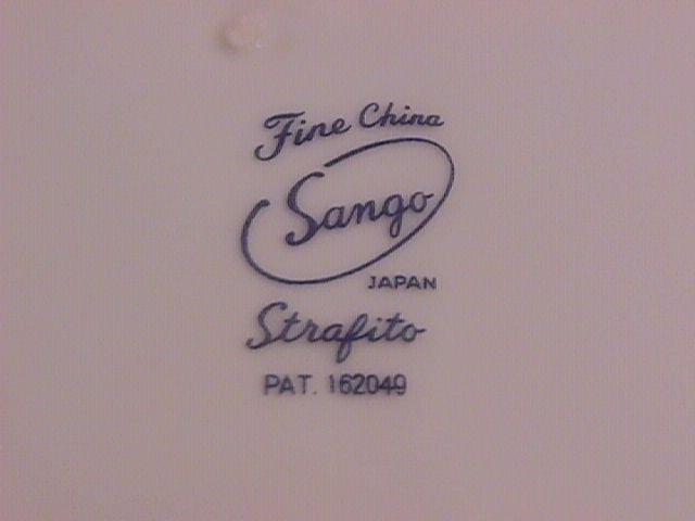 Sango Fine China, Japan