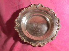 Frank M. Whiting, Sterling ( #2186 ) Centerpiece Bowl