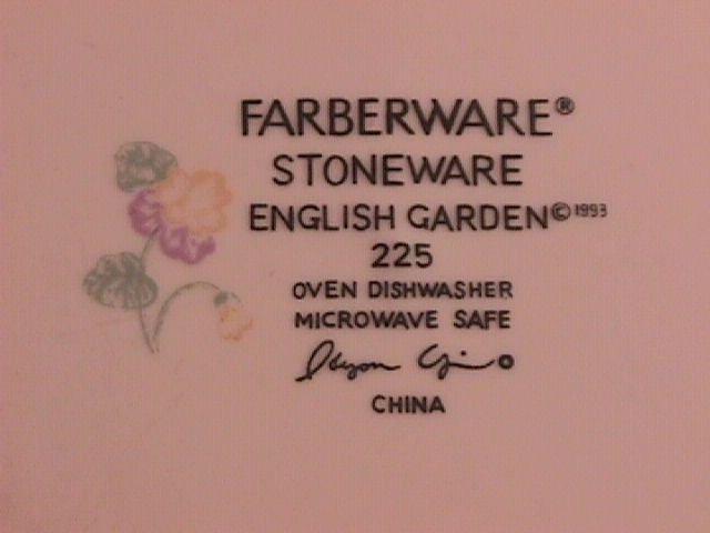 Farberware China