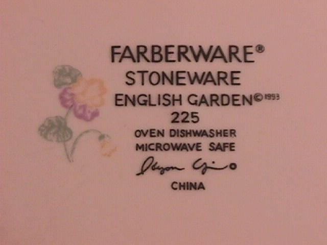 Farberware China