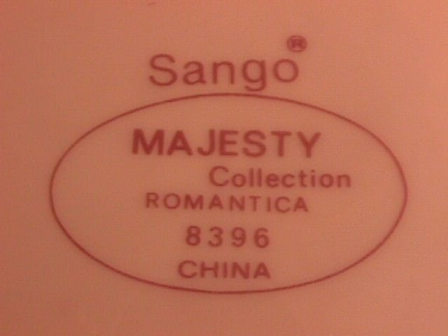 Sango China-Majesty Collection