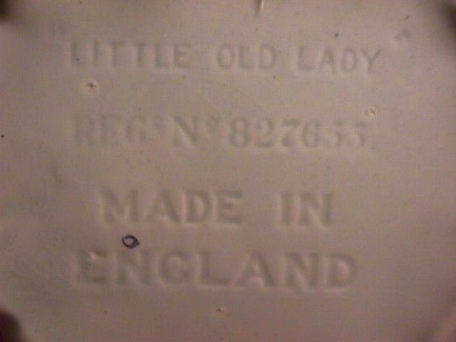 Vintage Little Old Lady=Made in England=Tea Pot