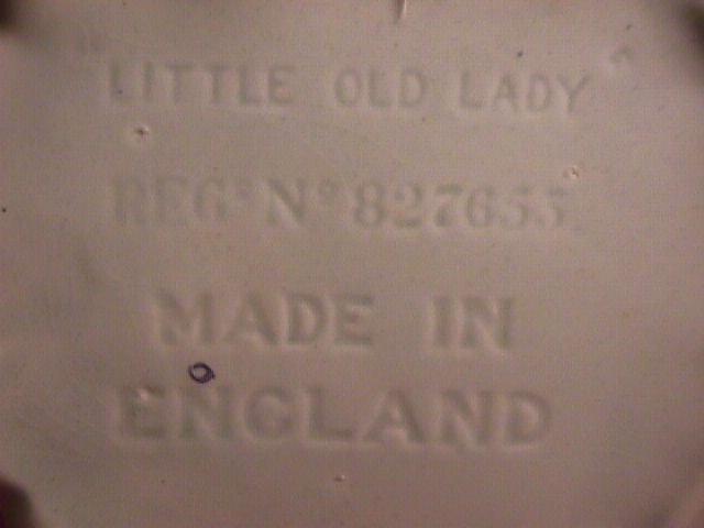 Vintage Little Old Lady=Made in England=Tea Pot