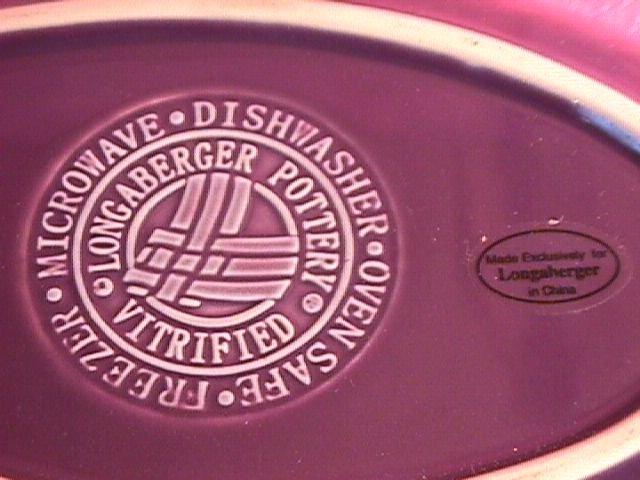 Longaberger  Pottery