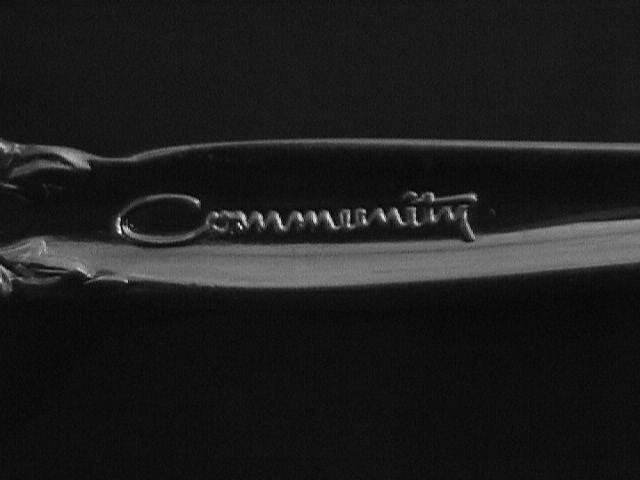 Oneida Community Silverplate