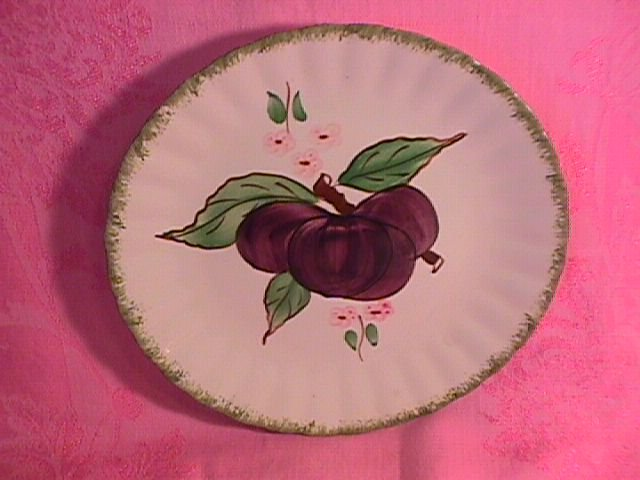 Blue Ridge for Avon Premium Salad Plate (Purple Plum)
