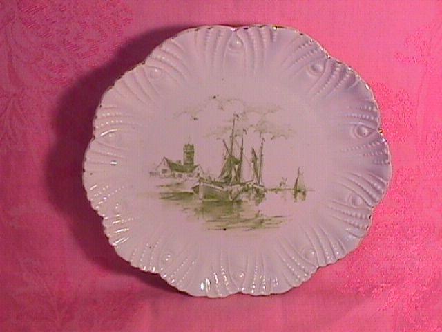 Carlsbad China-Austria Porcelain Dessert Plate