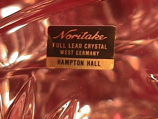 Noritake Crystal