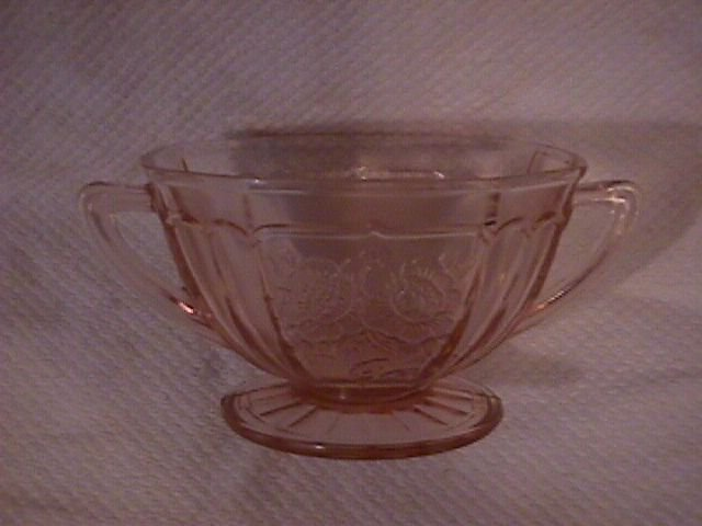 Anchor Hocking Pink Depression Glass