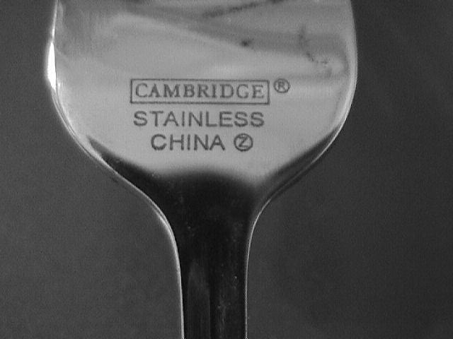 Cambridge Stainless 18/8