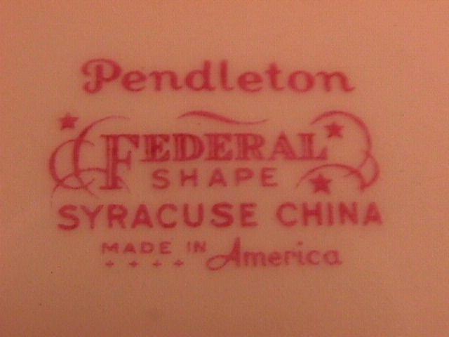 Syracuse Fine China
