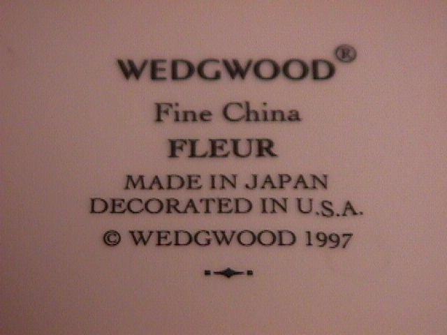 Wedgwood Fine China