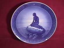 Royal Copenhagen Annual Christmas Plate=1962