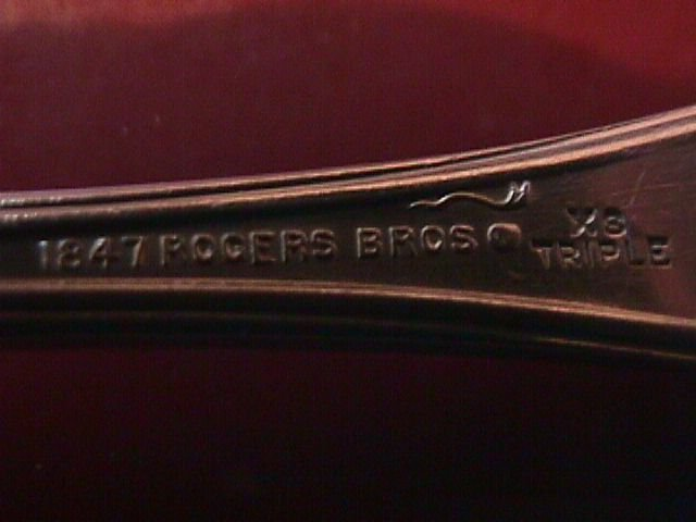 International 1847 Rogers Silverplate