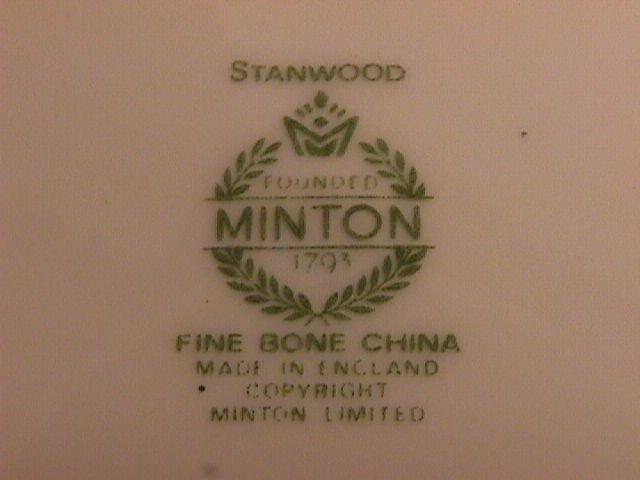 Minton Fine Bone China