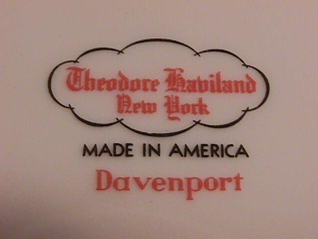 Theodore Haviland=New York