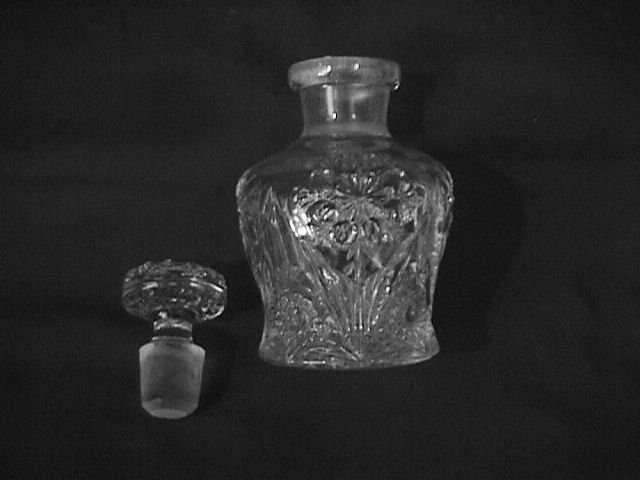 Imperial Glass # 474/Four Seventy Four Stoppered Condiment Bottle