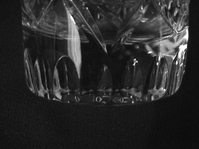 Elegant Cut Glass Whiskey Sours Set -6  (Unknown Pattern)