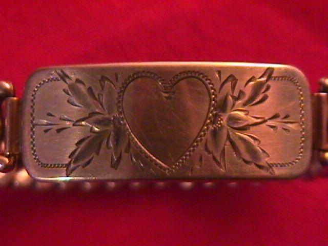 Gold Filled Expansion Sweetheart Bracelet