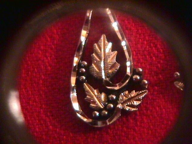 Sterling & Black Hills Gold Dangle Earrings