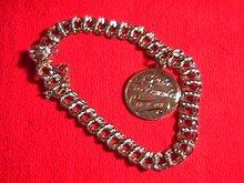 Sterling Charm Bracelet & 1 Charm