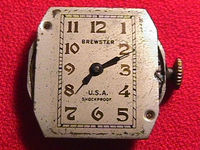 Brewster 1940 Watch Mechanism