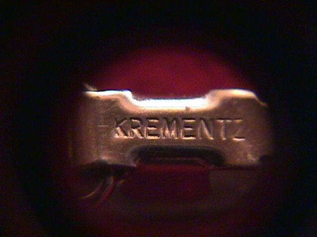 Krementz (Signed) Silver & Rhinestone Bracelet