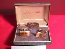 Krementz Cuff Links in the Original Box