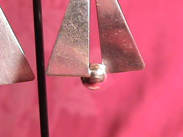 Mexico Sterling (Modernist) Screw-Back Earrings