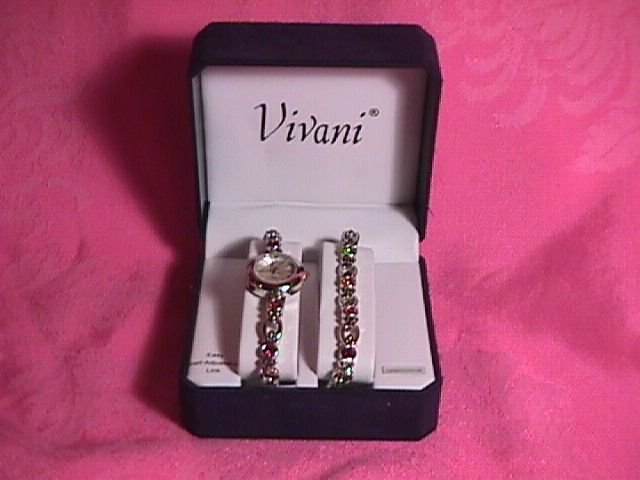 Vivani Watch & Matching Bracelet