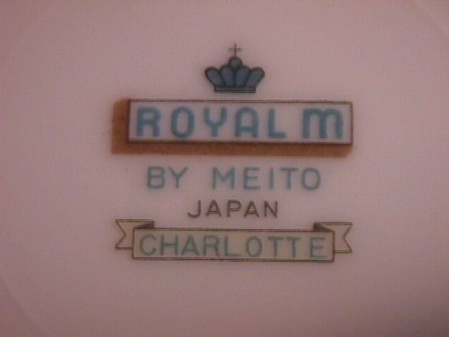 Royal M By Meito Fine China
