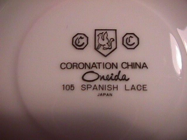 Oneida Coronation China