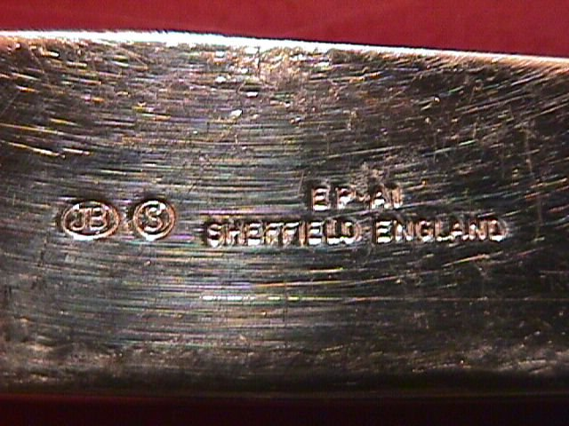 Mother of Pearl (Sterling-Banded) Cheese Knife