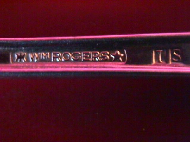 International WM Rogers Silverplate