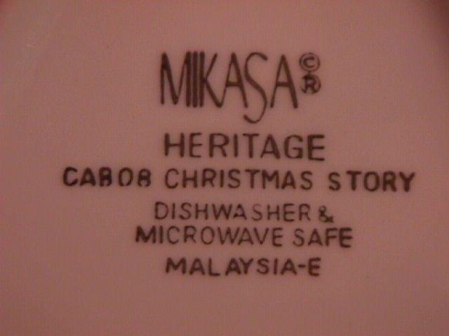 Mikasa Heritage Line