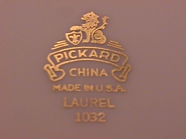 Pickard Porcelain China