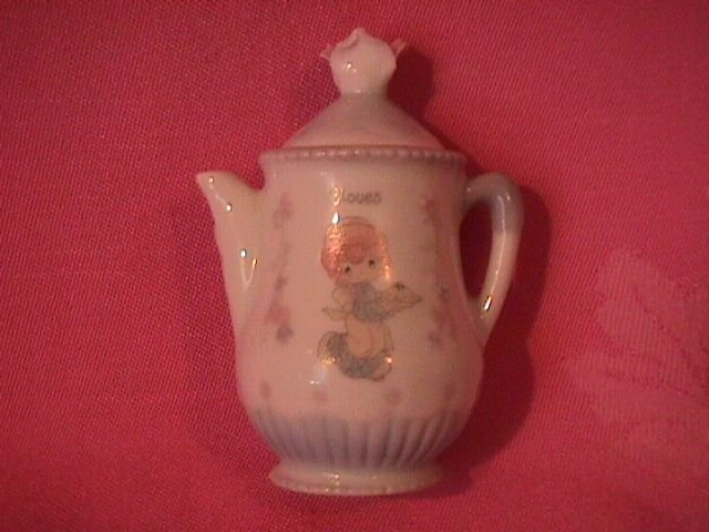 Enesco Precious Moments Spice Jar-Coffee Pot (Cloves)