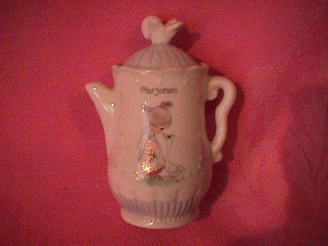 Enesco Precious Moments Spice Jar-Coffee Pot (Marjoram)