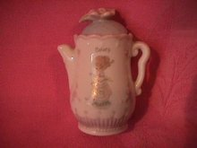 Enesco Precious Moments Spice Jar-Coffee Pot (Celery)