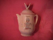 Enesco Precious Moments Spice Jar-Coffee Pot (Oregano)