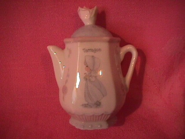 Enesco Precious Moments Spice Jar-Coffee Pot (Tarragon)