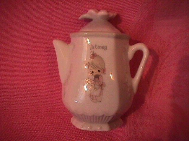 Enesco Precious Moments Spice Jar-Coffee Pot (Nutmeg)