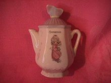 Enesco Precious Moments Spice Jar-Coffee Pot (Cinnamon)