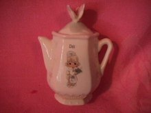 Enesco Precious Moments Spice Jar-Coffee Pot (Dill)