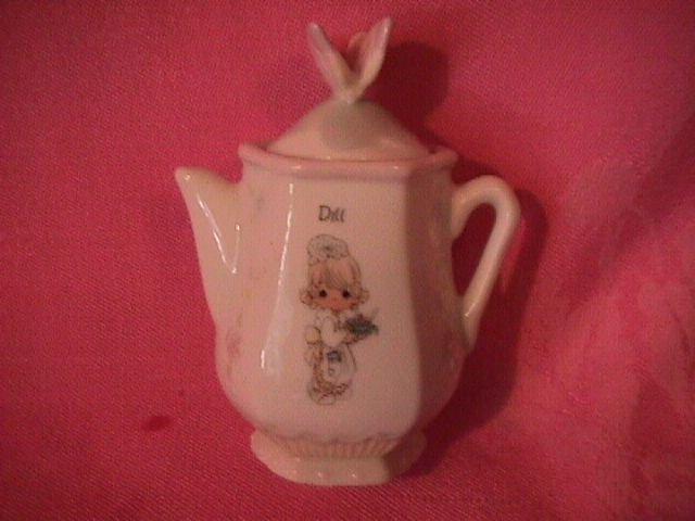 Enesco Precious Moments Spice Jar-Coffee Pot (Dill)