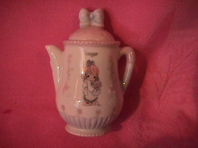 Enesco Precious Moments Spice Jar-Coffee Pot (Ginger)