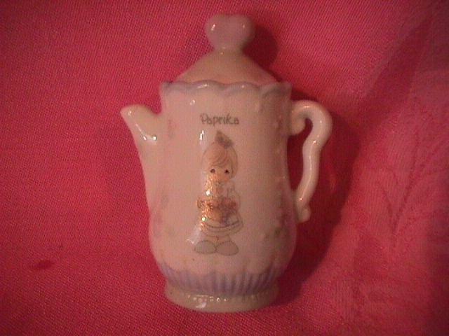 Enesco Precious Moments Spice Jar-Coffee Pot (Paprika)